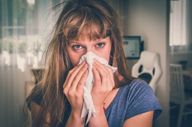 Influenssakausi alkaa usein joulun tai  uudenvuoden tienoilla.