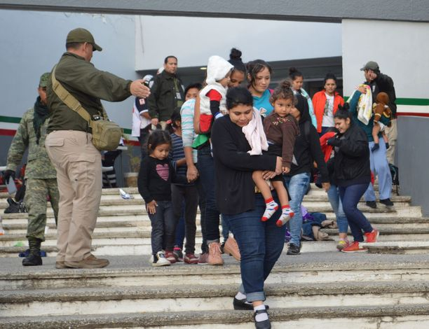 Siirtolaisrekka otettiin kiinni Tamaulipasissa.