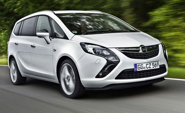 Opel Zafira -kaasu.