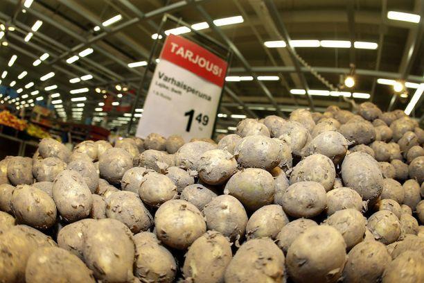 Varhaisperunaa saadaan kauppoihin ennen juhannusta.