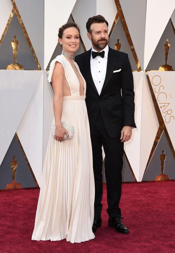 Olivia Wilde ja Jason Sudeikis.