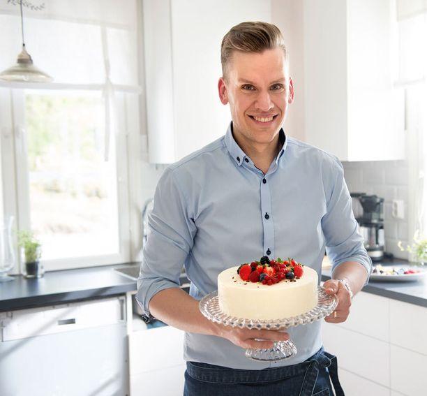Keittiö on Anders Wikströmille tuttuakin tutumpi paikka.