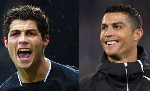 Cristiano Ronaldon hymy on käynyt läpi radikaalin muutoksen. KUVAT: AOP