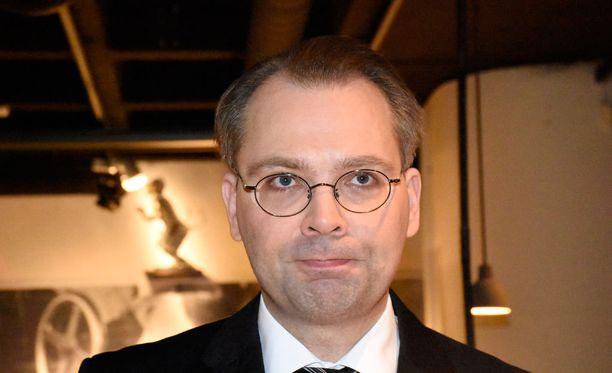 Puolustusministeri Jussi Niinistö. Arkistokuva.
