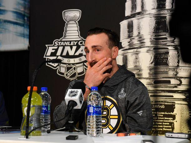 Brad Marchandin vaihtovirhe Stanley Cupin ratkaisufinaalissa painaa kanadalaisen mieltä pitkään.