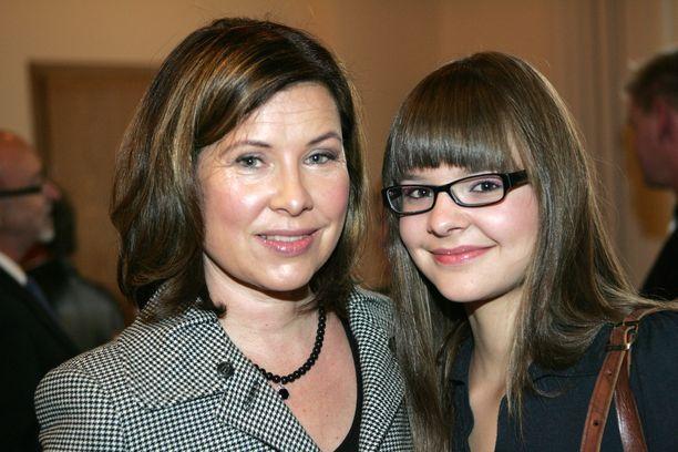 Aino Seppo ja Sonja Salminen kuvattuna vuonna 2007.