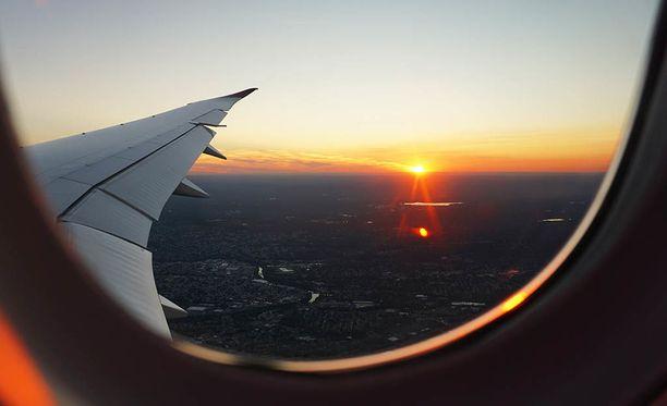 Lentomatkustaminen ei ole ekologinen valinta.