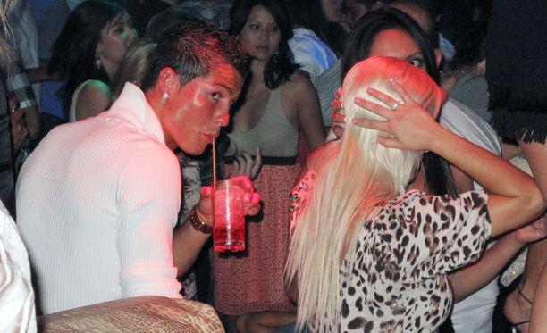 Cristiano Ronaldo oli todistettavasti Las Vegasissa kesäkuussa 2009.