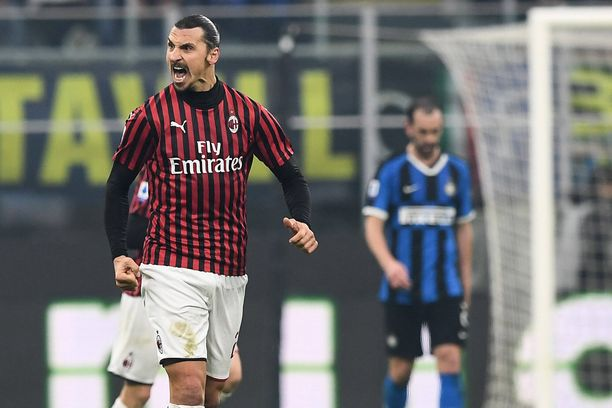 Zlatan Ibrahimovic kärsi ensimmäisen tappionsa tällä nykyisellä Milan-stintillään.