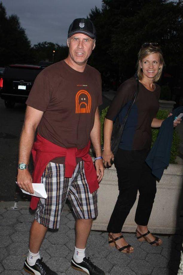 Will Ferrell on ollut kaksitoista vuotta naimisissa näyttelijä Viveca Paulinin kanssa.