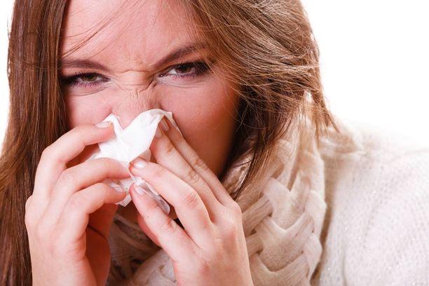 Keuhkokuumeriski lisääntyy influenssakausien aikana.
