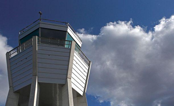Sunnuntain tapauksessa torni avattiin ambulanssilentoa varten pelastusviranomaisten pyynnöstä. Kuvituskuva.