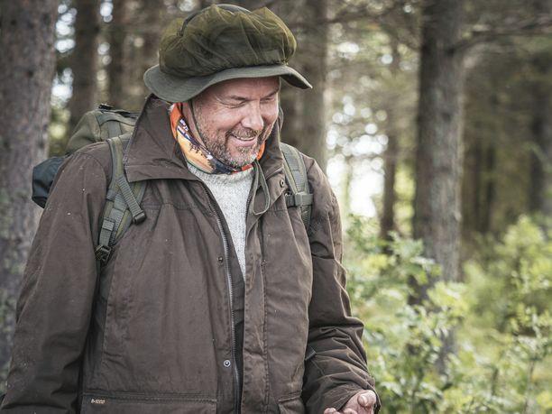 Arttu Harkki oli varautunut kaikenlaisiin sääolosuhteisiin.