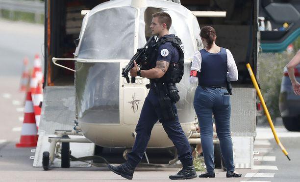 Helikopteri, jolla Redoine Faid pakeni heinäkuun alussa pariisilaisesta vankilasta, löytyi hylättynä Gonessesta.