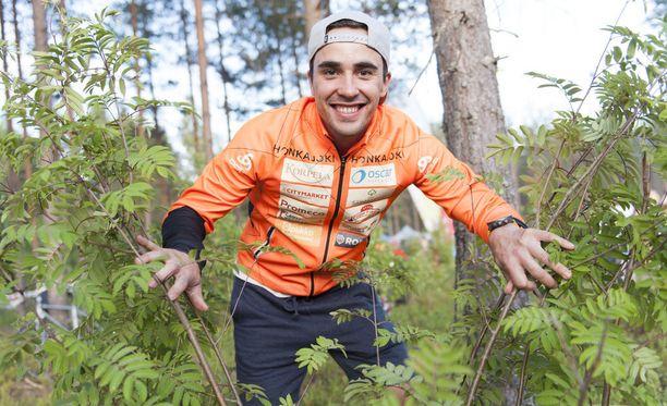 Ristomatti Hakola painaa kesäkuussa 2018 viisi kiloa vähemmän kuin vuosi sitten samaan aikaan.