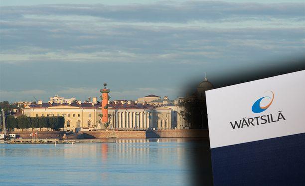 Transas Navigatorin tilat sijaitsevat Vasilinsaarella Pietarissa. Kyse on Wärtsilän tytäryhtiöstä. Kuvituskuvat.
