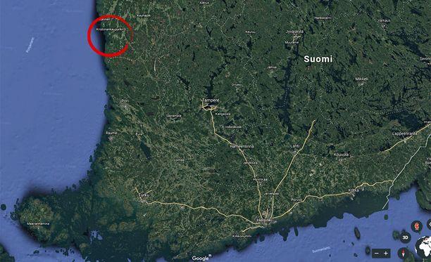 Perjantai-iltana miestä ammuttiin haulikolla Kristiinankaupungissa.