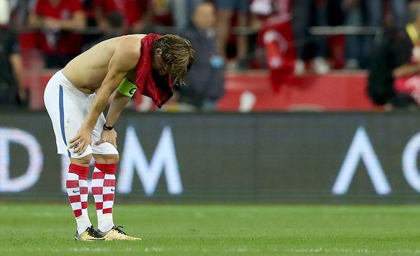 Luka Modricin Kroatia kohtaa jatkokarsinnassa Kreikan.