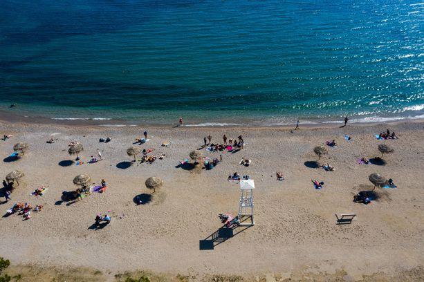 Kreikan rannoilla olisi nyt hyvin tilaa.