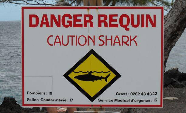 Réunionin saarella on tapahtunut neljän vuoden aikana 16 haihyökkäystä.