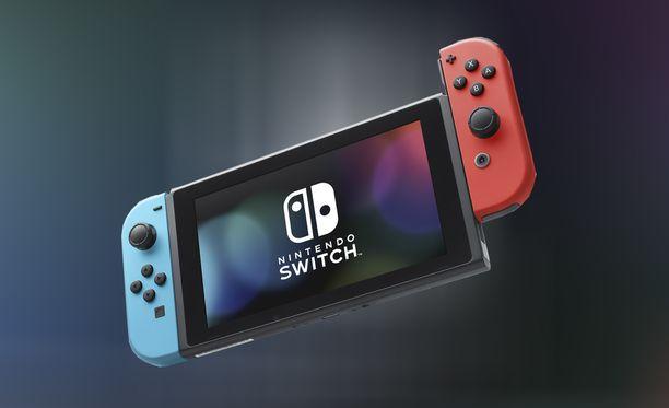 Nintendo toi Switchin myyntiin maaliskuussa 2017.