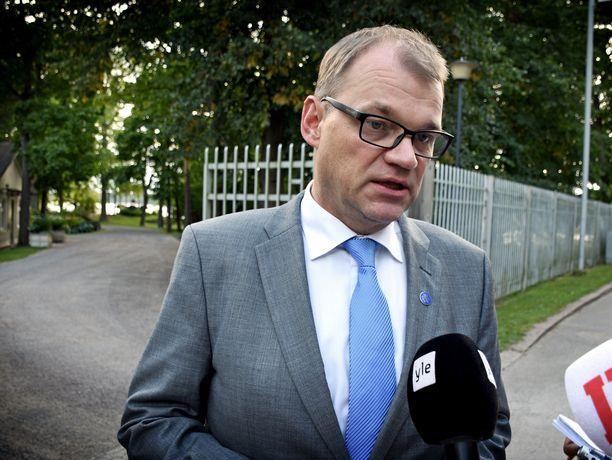 Pääministerin haastattelutuntia ei tällä kertaa järjestetty pääministerin virka-asunnolla Kesärannassa Helsingissä, vaan Juha Sipilän kotiseudulla Oulussa.