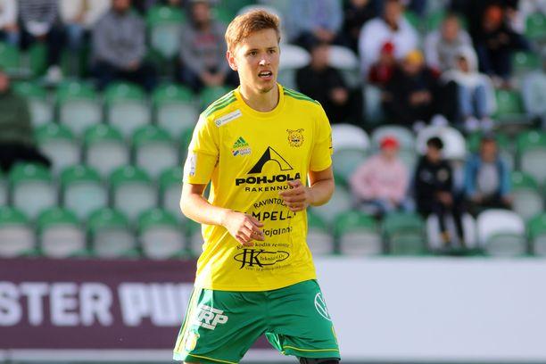 Ilari Mettälä teki tiistaina kaksi maalia.