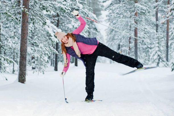 Keskiviikkona kannattaa kaivaa sukset esiin, jos talvinen ulkoliikunta kiinnostaa.