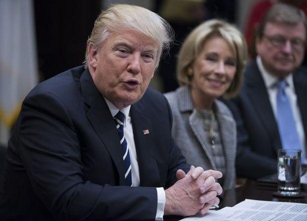 Yhdysvaltain presidentti Donald Trump on tehnyt selväksi sen, että Venäjän pitäisi palauttaa Krim. Venäjä valtasi alueen vuonna 2014.