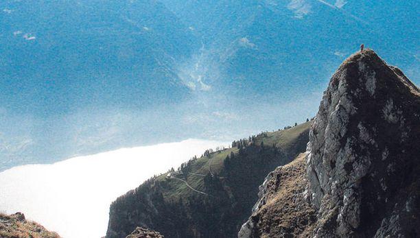 Euroopassa on helppo piileskellä - vaikkapa Sveitsin alpeilla.