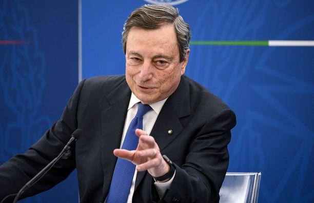 Italian tuore pääministeri Mario Draghi teki selväksi, mitä hän ajattelee Turkin presidentistä.