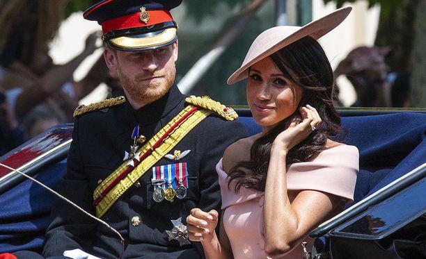 Prinssi Harry ja herttuatar Meghan vihittiin toukokuussa.