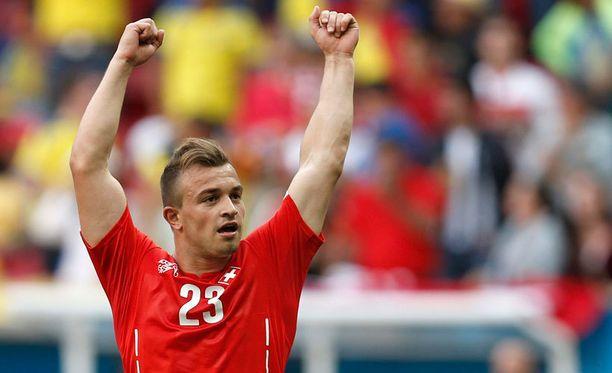 Xherdan Shaqiri on Sveitsin jalkapalloilun kasvot.