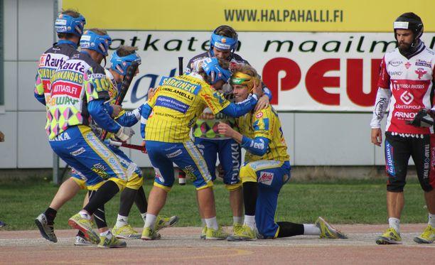 Valtteri Kleemola vapautti Ankkurien pelin kahdella kunnarillaan.