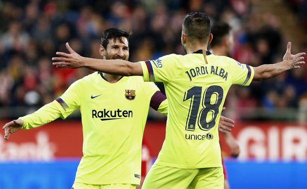 Lionel Messin ja Jordi Alban telepaattinen yhteistyö tuotti jälleen yhden maalin.