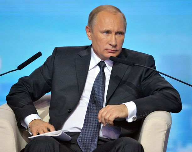 Putin puhui Yleisvenäläisen Kansanrintaman tilaisuudessa Moskovassa tiistaina.