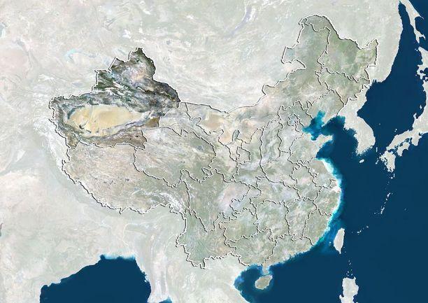 Xinjiangin autonomisella alueella asuu reilut 10 miljoonaa etnistä uiguuria.