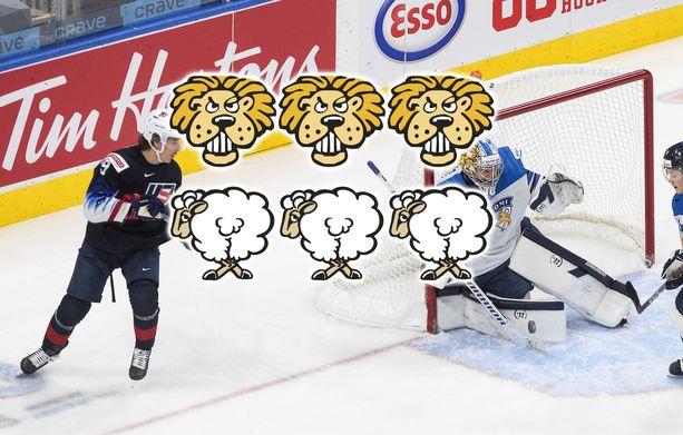 Suomi taisteli upeasti, mutta USA eteni finaaliin.