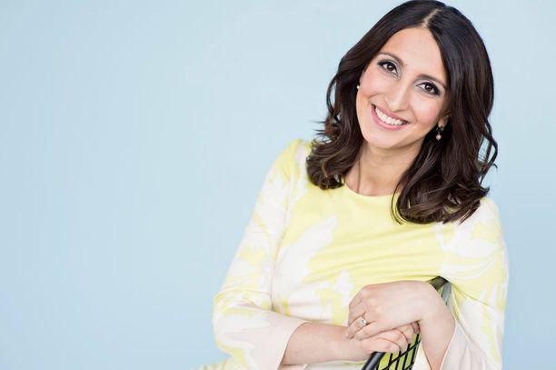 Nasima Razmyarin ensimmäisen lapsen laskettu aika on elokuussa.
