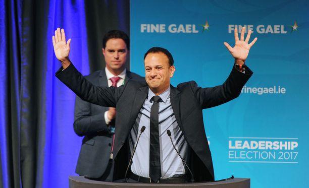 Leo Varadkar on Irlannin uusi pääministeri.