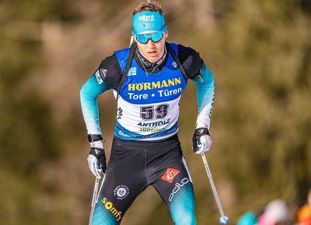 Émilien Jacquelin voitti sensaatiomaisesti MM-kultaa.
