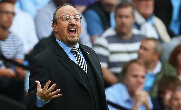 Rafael Benítezin Newcastlella on vain yksi piste kasassa Valioliigassa.