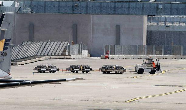 Arkut lähtivät viimeiselle matkalle Marseillen lentokentältä.