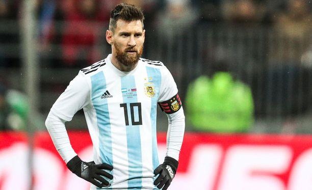 Leo Messi kävi näyttämässä taitojaan Moskovassa marraskuussa.
