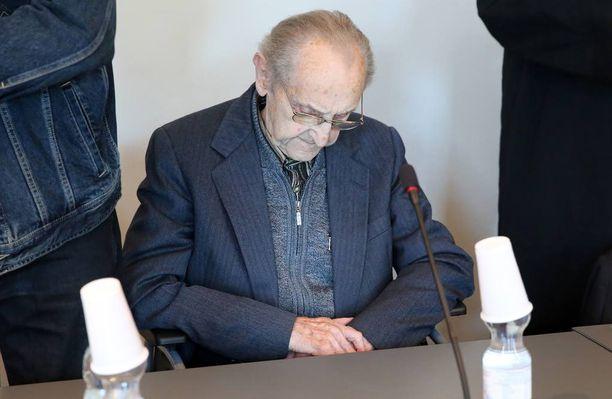 Hubert Zafke, 95, on vannonut syyttömyyttään.