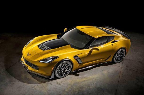 Rajuin Corvette on nyt tässä - Z06.