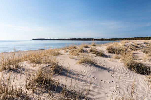 Yyterin pitkä ranta noteerattiin brittilehdessä.