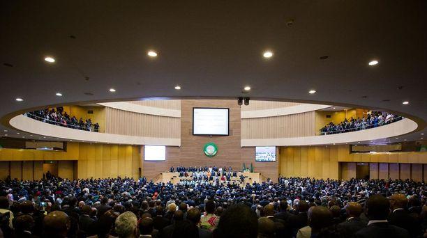Afrikan unionin päämaja sijaitsee Etiopian pääkaupungissa Addis Abebassa.