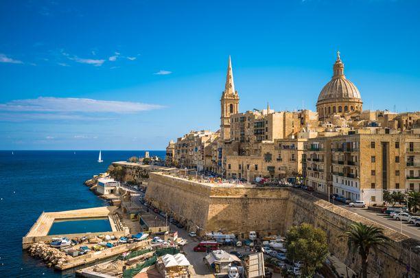 Yli neljännes Maltan kansantuotteesta tuli ennen koronaa turismista.