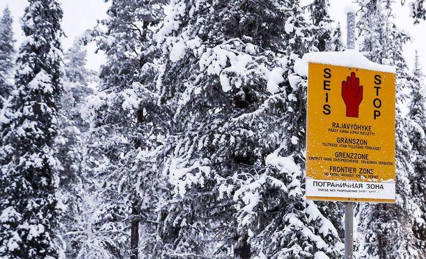 Kaksi Suomen kansalaista pakeni väkivaltaisesti tullitarkastusta joulukuussa 2017. Arkistokuva.